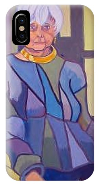 Mrs. Edith Lipton Phone Case by Debra Bretton Robinson
