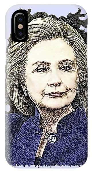 Mrs Hillary Clinton IPhone Case