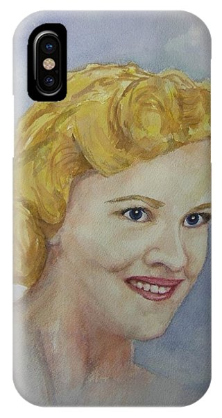 Mrs. Morin IPhone Case