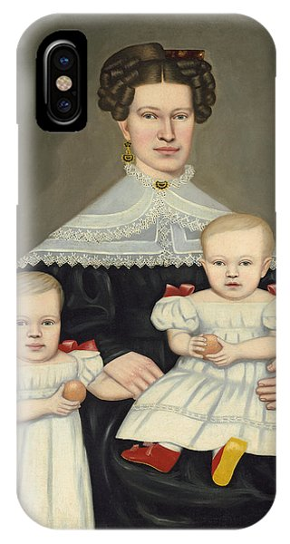 Mrs Paul Smith Palmer And Her Twins IPhone Case