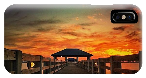 Sunset iPhone Case - Ms Gulf Coast Sunset💖 #visitms by Joan McCool