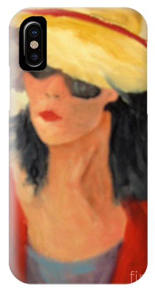 Ms Hollywood  IPhone Case