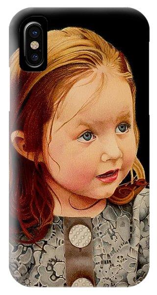 David Hoque iPhone Case - Ms Josie by David Hoque