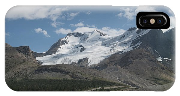Mt Athabasca IPhone Case