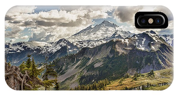 Mt Baker Panoramic IPhone Case