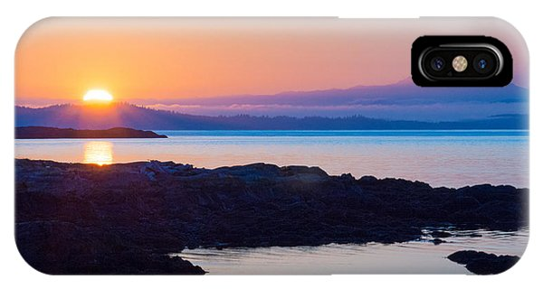 Mt. Baker Sunrise IPhone Case