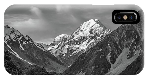 Mt Cook Wilderness IPhone Case