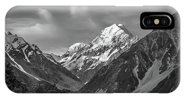 Mt Cook Wilderness IPhone Case