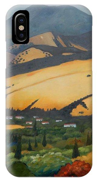 Mt. Diablo Above IPhone Case