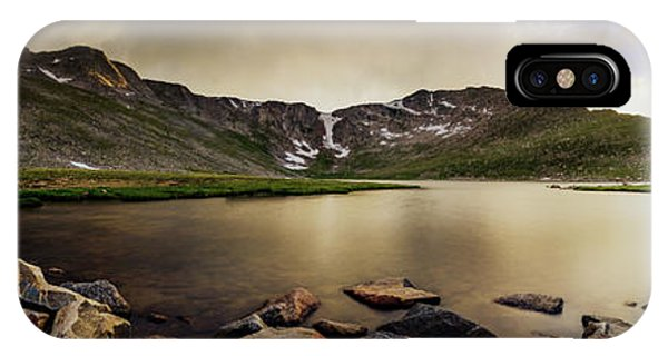 Mt. Evans Summit Lake IPhone Case
