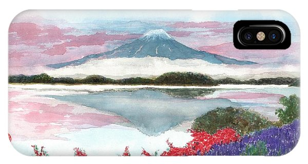Mt. Fuji Morning IPhone Case