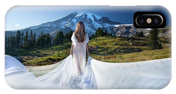 Mt Goddess IPhone Case