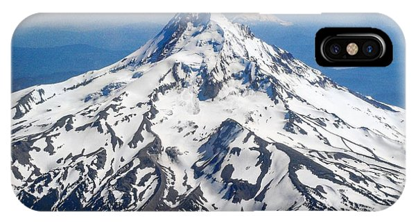 Mt. Hood From 10,000 Feet IPhone Case