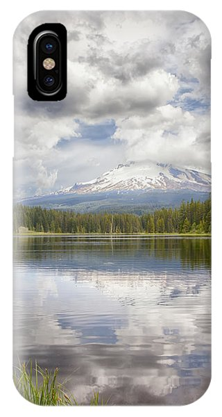 Mt Hood From Trilliam Lake IPhone Case