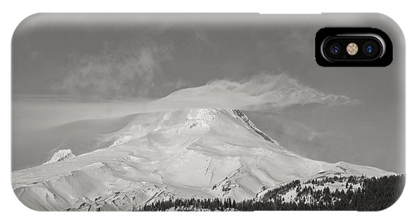 Mt Hood From White River IPhone Case