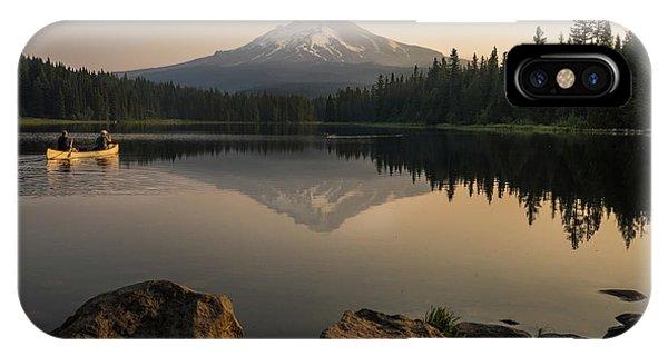 Mt Hood Sunrise  IPhone Case