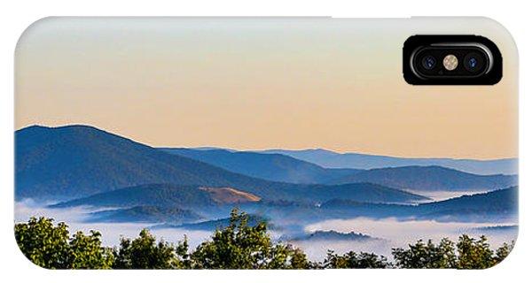 Mt. Jefferson Cloud Lake IPhone Case