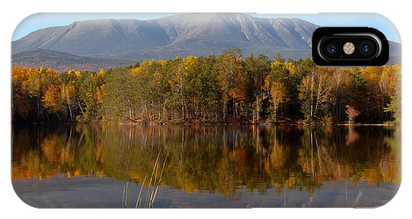 Mt Katahdin Baxter State Park Fall 1 IPhone Case