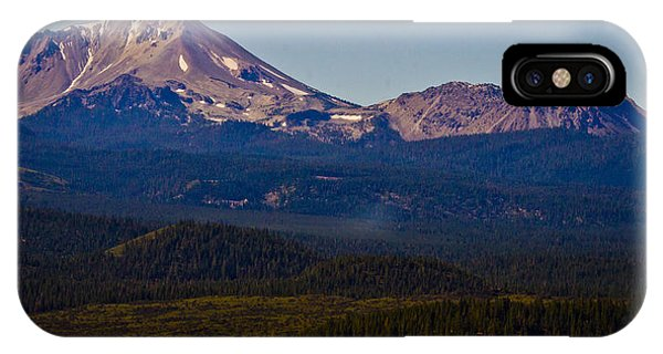 Mt Lassen And Chaos Crags IPhone Case