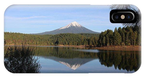 Mt Mclaughlin Or Pitt IPhone Case