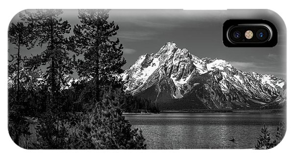 Mt. Moran And Trees IPhone Case