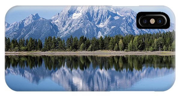 Mt. Moran Grand Tetons IPhone Case