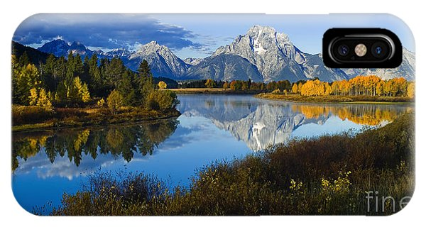 Mt. Moran On The Snake River IPhone Case