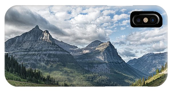 Mt. Oberlin From Logan Pass IPhone Case