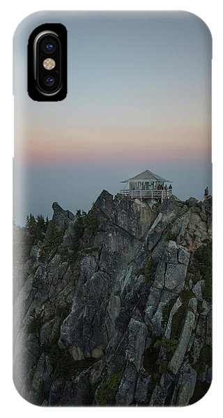 Smokey iPhone Case - Mt. Pilchuck Lookout by Ryan McGinnis