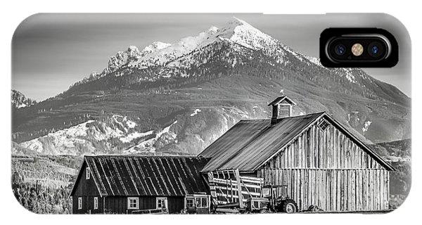 Mt Pilchuck IPhone Case