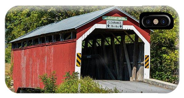 Mt. Pleasant Covered Bridge IPhone Case