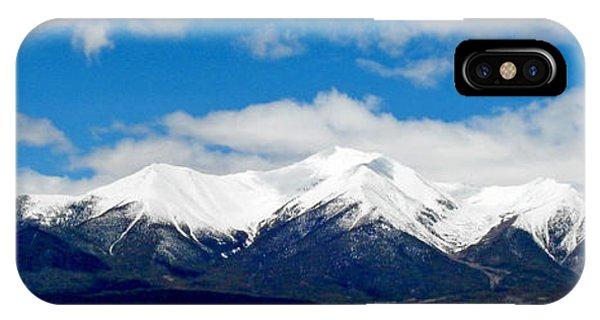 Mt. Princeton Colorado IPhone Case