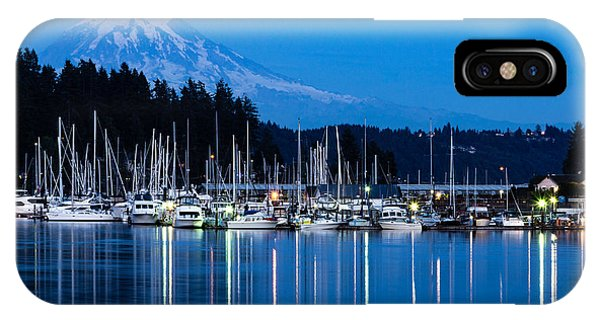Mt. Rainier From Gig Harbor IPhone Case