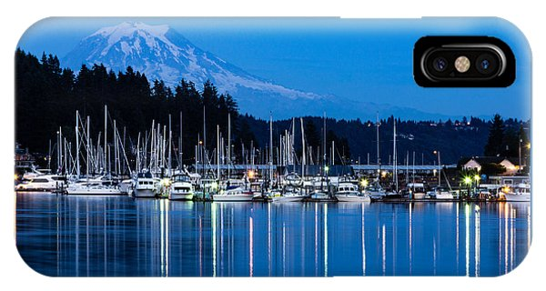 Mt. Rainier From Gig Harbor IPhone Case