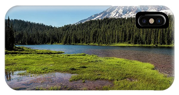 Mt Rainier From Reflection Lake, No. 2 IPhone Case