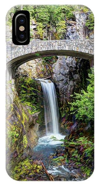 Mt Rainier National Park, Christine Falls IPhone Case