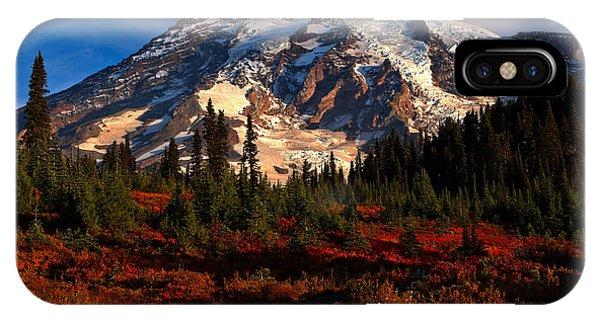 Mt. Rainier Paradise Morning IPhone Case