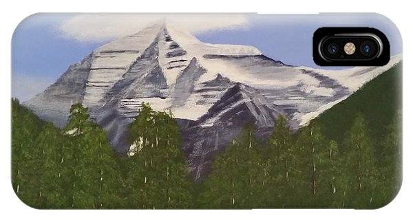 Mt. Robson, Bc IPhone Case