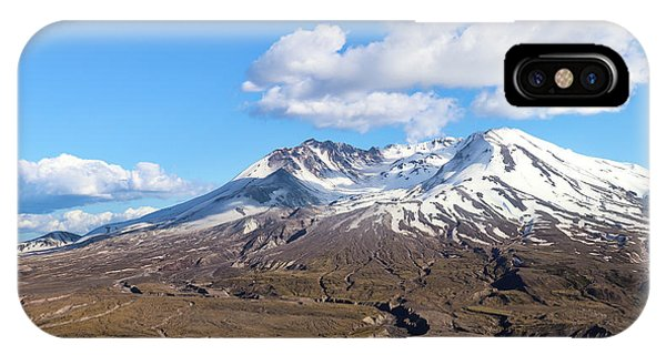 Mt Saint Helens IPhone Case
