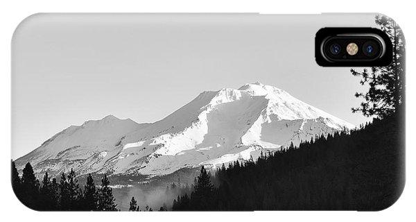 Mt Shasta IPhone Case