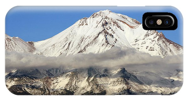 Mt. Shasta Summit IPhone Case