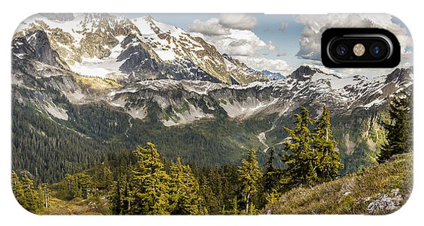 Mt Shuksan Panoramic IPhone Case