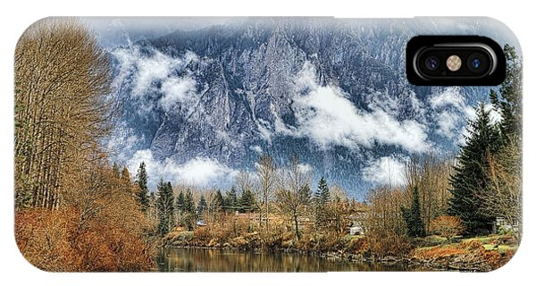 Mt Si IPhone Case