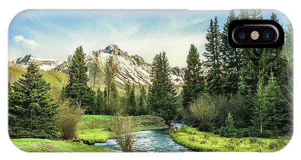 Mt. Sneffels Peak IPhone Case