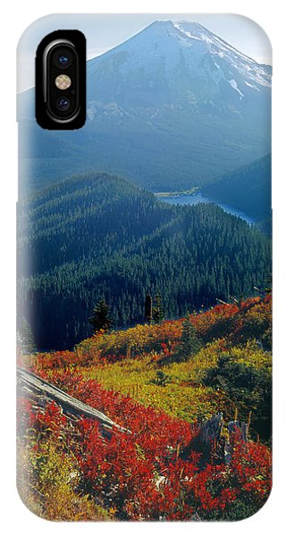 1m4903-mt. St. Helens 1975  IPhone Case