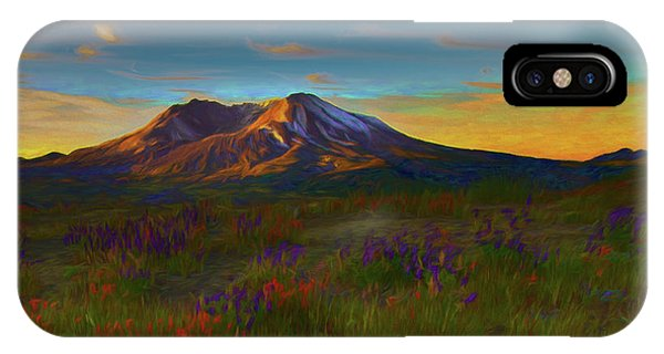Mt. St. Helens Sunrise IPhone Case