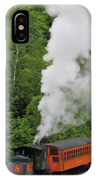 Mt Washington Cog Railroad IPhone Case