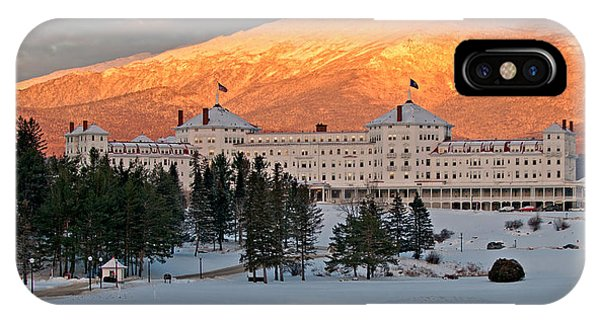 Mt. Washinton Hotel IPhone Case