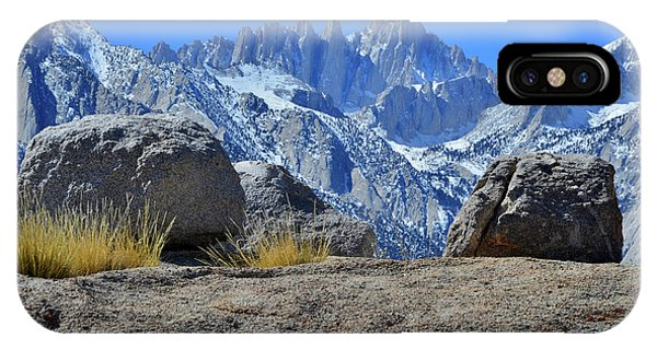 Mt. Whitney - Highest Point In The Lower 48 States IPhone Case