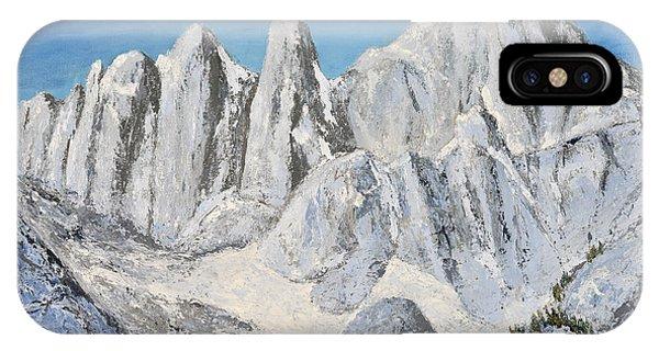 Mt. Whitney Summit IPhone Case